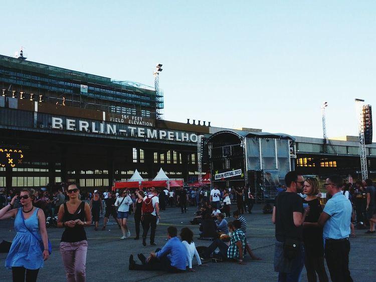 Berlin Tempelhof Berlin Festival 2013