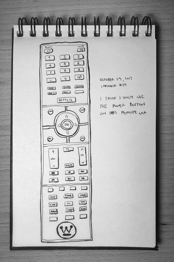 Inktober day 29. So. Many. Buttons. Inktober Everydaymatters Remote Control