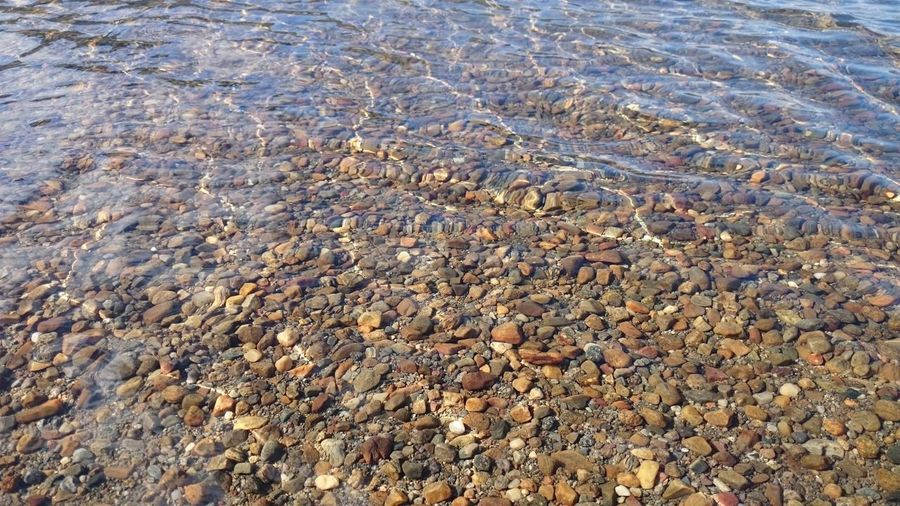 Backgrounds Full Frame Rippled Nature Day Water Tranquility Outdoors The Natural World Physical Geography Sea Geology Beauty In Nature Shore Rocky Vacations No People