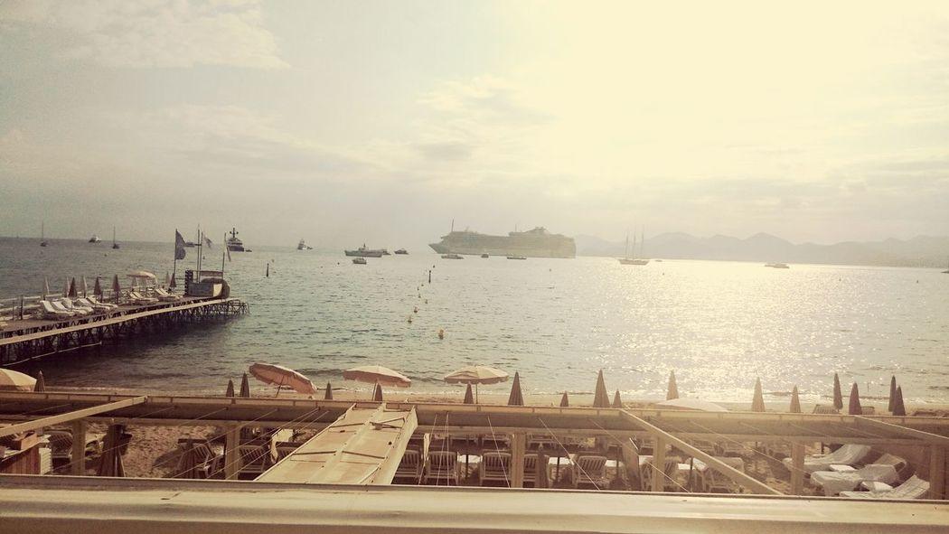 Cannes, France Beach
