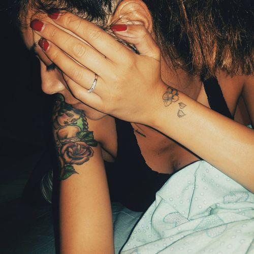Felicidad Today Girl Tattoo Sembrofiga PiERCiNGS & TATTOOS Sweet Tatoogirl Girlswithtattoos Myoutfit