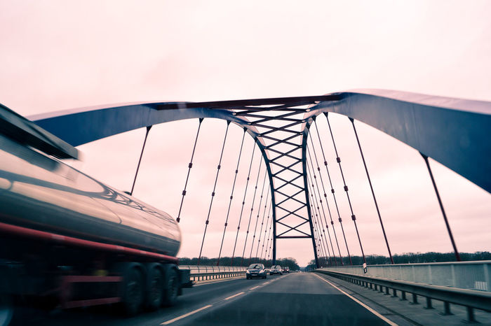 Bridge Bridge - Man Made Structure Built Structure Connection Day Diminishing Perspective Engineering Envision The Future Highway Journey Long Mode Of Transport No People Outdoors Road Sky The Architect - 2016 EyeEm Awards The Great Outdoors - 2016 EyeEm Awards The Photojournalist - 2016 EyeEm Awards The Street Photographer - 2016 EyeEm Awards The Way Forward Transportation Travel Destinations Vanishing Point