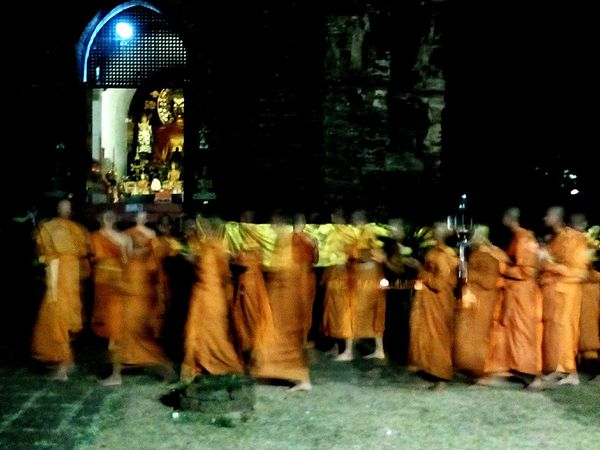 Hello World Taking Photos Thailand Culture in Ma kha Bucha day Goodday✌️ Good Times Smail :-)
