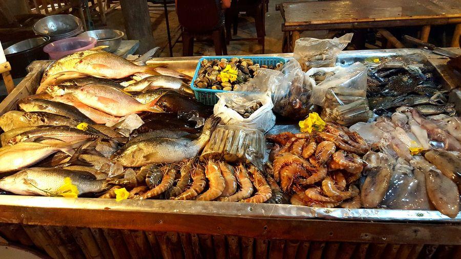 Seafood on the