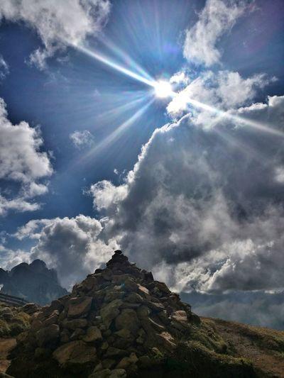 Stoamandl Stoa Steine Likeit Wandern Sonne Herbst Mountain Blue Mountain Peak Tree Sky Cloud - Sky Landscape