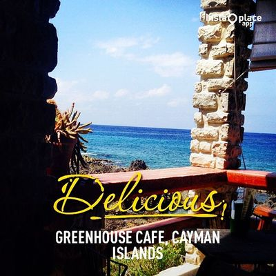 InstaPlace Instaplaceapp Place Earth world caymanislands caymanislands KY caymanislands greenhousecafe coffee street day