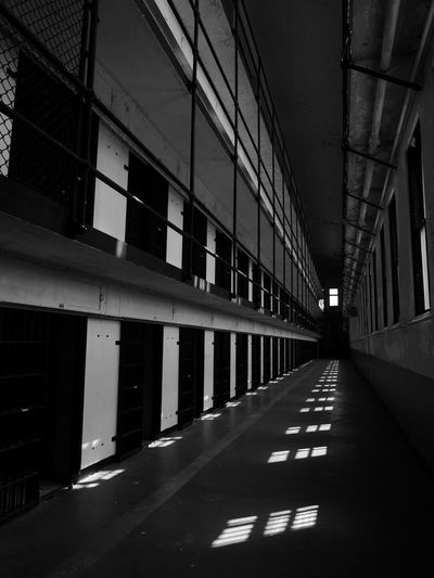 17.62° In Prison Jail Old Montana Prison Behind Bars Confinement Jailhouse Pokey Prison Prison Cell