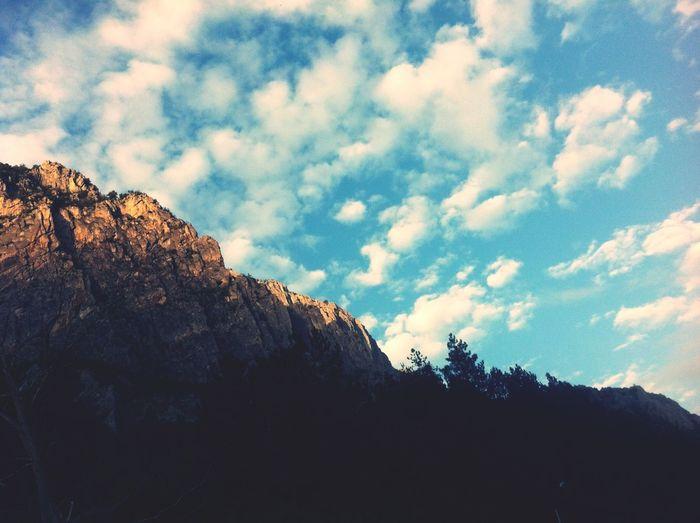 People Watching Nice Atmosphere Camping Beautiful Sky