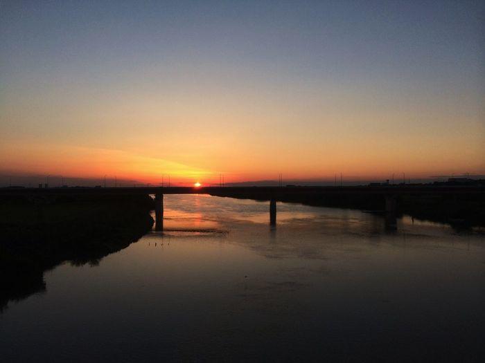 沈むー IPhoneography Sunset