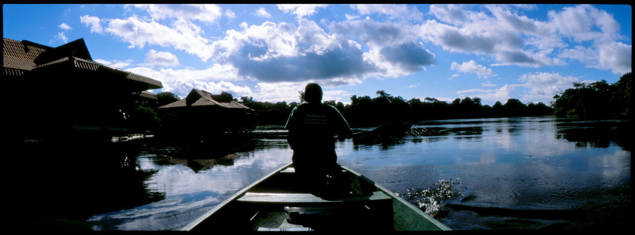 The Amazon River Amazon Amazonas Analogue Photography Brazil Canoe Ecotourism Heritage Jungle Jungleland Marimaua Native American Panoramic River Sky Slidefilm Tour Uacari Lodge Water Waterlodge