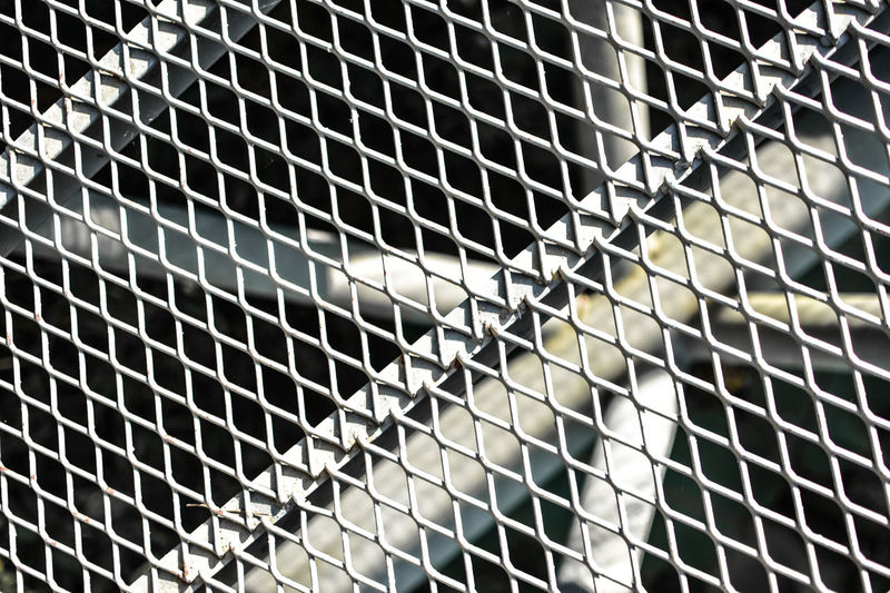 Abstract Architecture Architecture And Art Backgrounds Built Structure Close-up Day Design Fence Full Frame Grid Indoors  Metal No People Pattern Protection Repetition Safety Security Shape Steel Textured