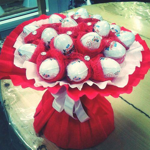 конфетка Sweet длялюбимой подарок сладость Handmade букетизконфет Kinder Бишкек Sweets