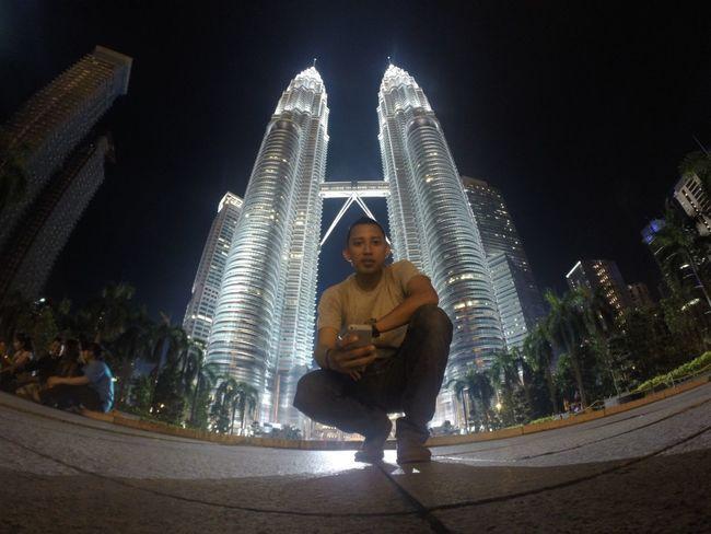Night 2 Petronas Twin Towers Vocation Malaysia Petronas OpenEdit GoPro Hero3+