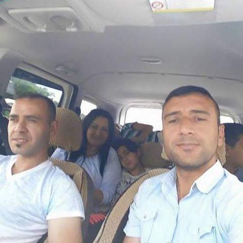 Yolculuk sırasında Annem Inanabi MustafaAbi Ben