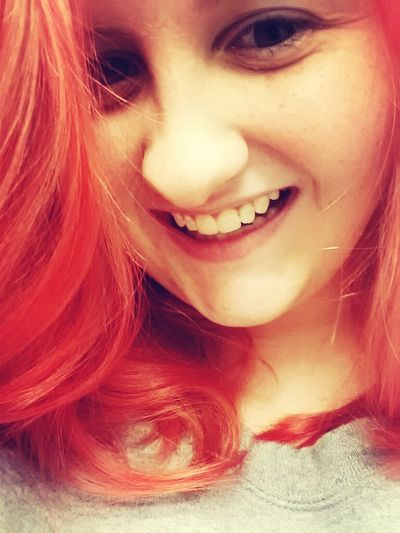 when I had my red hair.