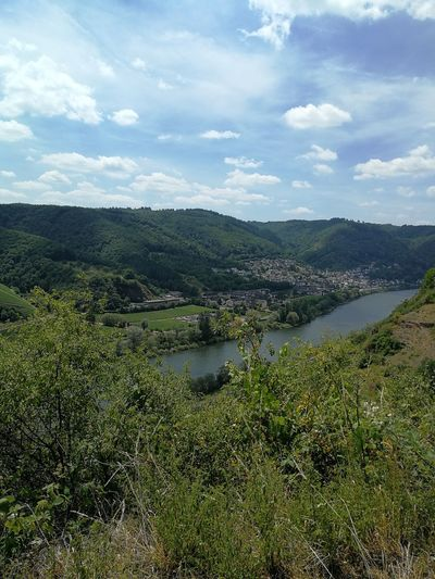 Water Day Nature Beauty In Nature Mountain Landscape River Mosel