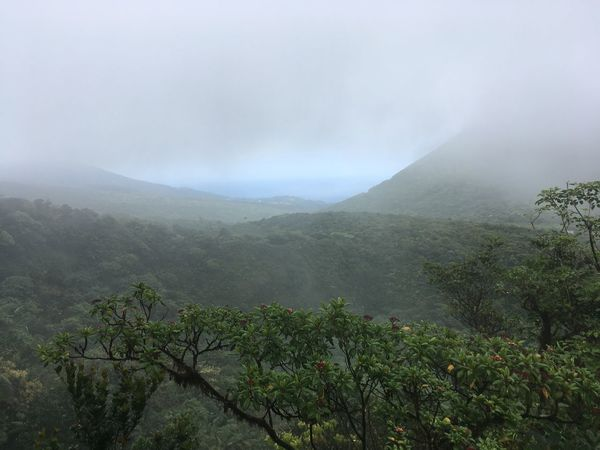 Beauty In Nature Day Domicia Fog Foggy Hazy  Landscape Mist Mountain Mountain Range Nature No People Outdoors Plant Scenics Sky Tranquil Scene Tranquility Tree