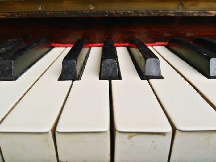The Keys Keys Keyboard Piano Music Black White