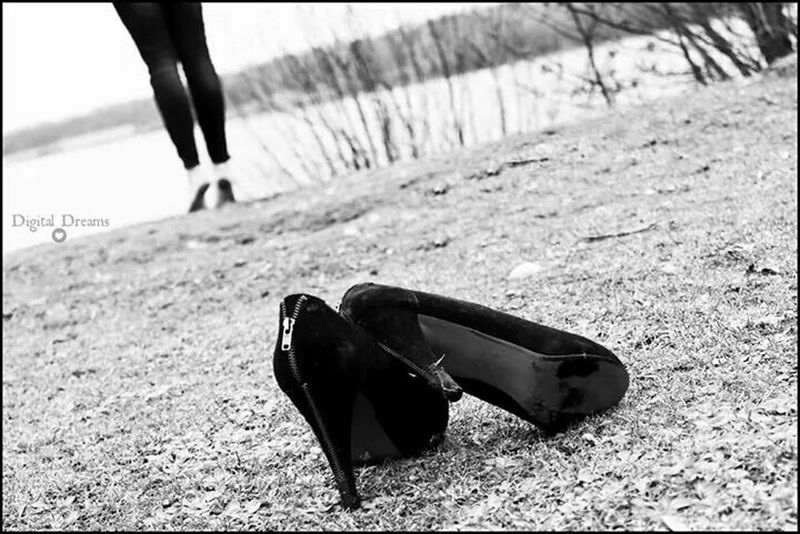 Fotography Shoes Fotoshooting Model Fotografie Black And White