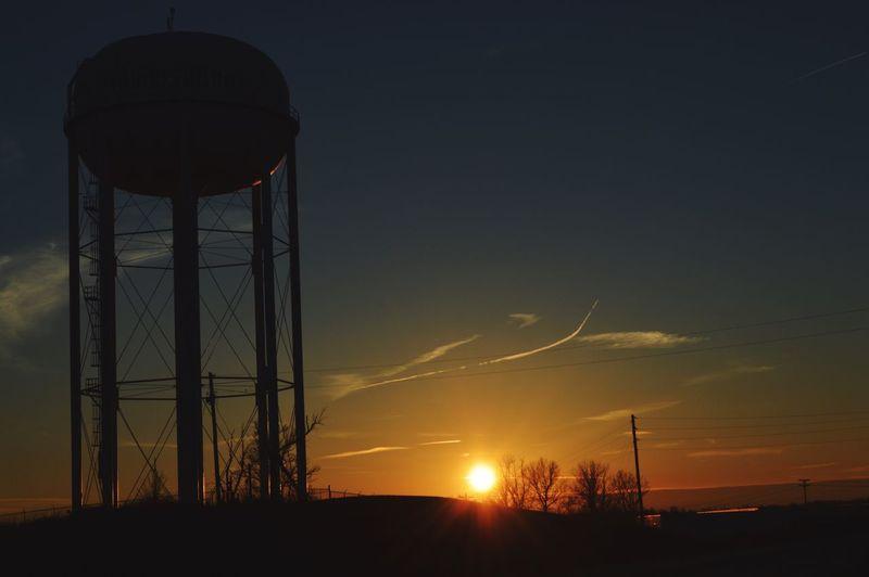 water tower - storage tank