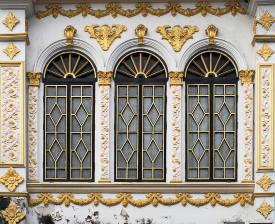 Architecture Bas Relief Building Exterior Built Structure Close-up Day Design Gold Colored No People Ornate Outdoors Pattern Vintage Window