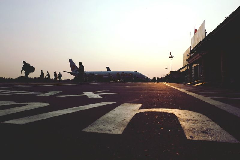 Sunset AirPlane ✈ Relaxing Traveling Travelphotography Sky Fujifilm Fujifilm_xseries Fujifilm X-m1 Xm1