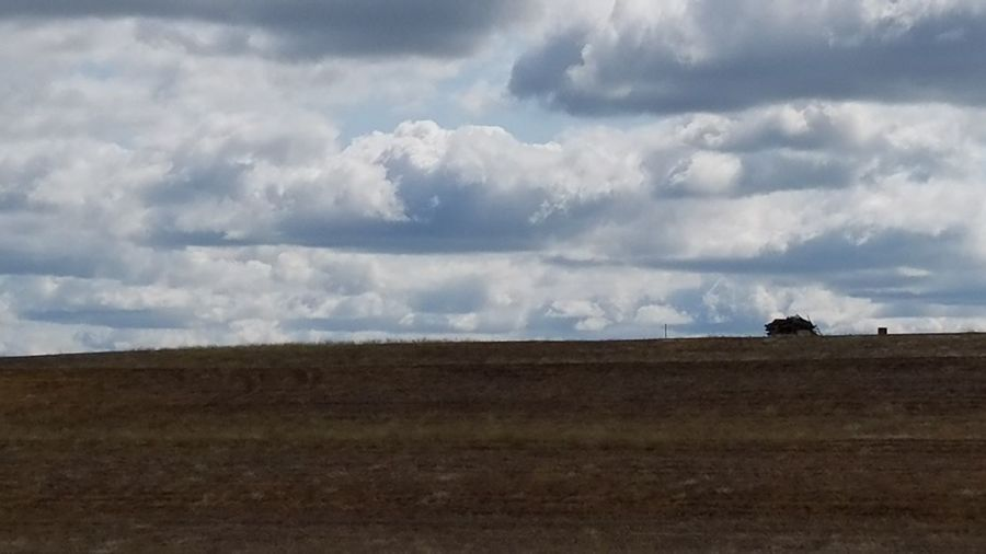 Big sky The Great Outdoors - 2016 EyeEm Awards Landscape The Purist (no Edit, No Filter) Sky Clouds Prarie Country Simplicity No People No Filter Landscapes
