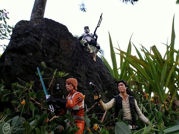 """Hunting Rebel Scum """"At last, I have found the rebels responsible for the Death Star Massacre. They shall pay for all the lives lost."""" MayThe4thBeWithYou MayTheFourthBeWithYou Starwarsday Starwars Afaa AfaaNinjimpo"""