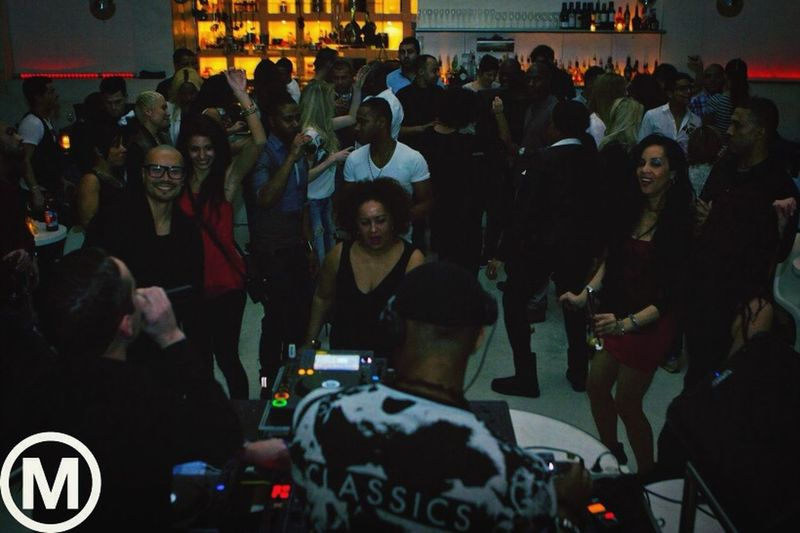 While performing Dj Set @ my bday bash   Party on Monday   Supperclub   Amsterdam   17.02