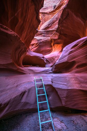 Ladder at waterhole canyon