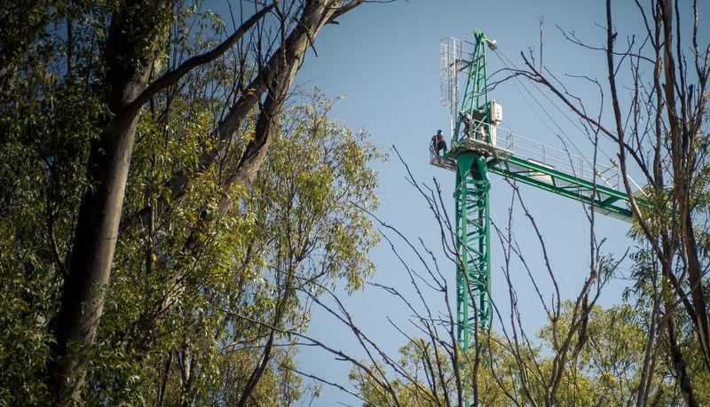 Trabajando Construction Industry Obra Obreros Workers Building Construcción Grua