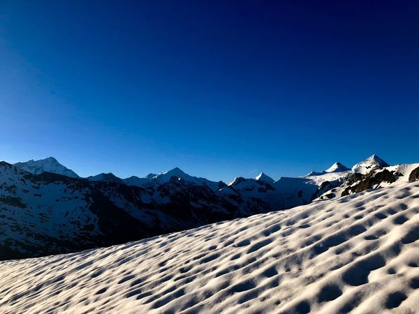 EyeEm Nature Lover Alps Swissmountains  Swiss Alps Valais Valdanniviers Grimentz Moiry Snow Mountain Sky Beauty In Nature Tranquil Scene Landscape Snowcapped Mountain No People Mountain Peak Clear Sky The Great Outdoors - 2018 EyeEm Awards