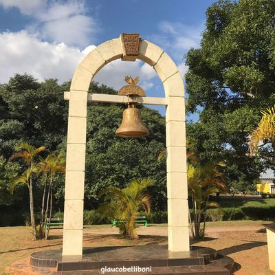 The Bell of the city in Juventude Park, São Paulo, Brazil Bell Architecture Park Parkscapes Sao Paulo - Brazil Saopaulo Saopaulocity Ilovesaopaulo Ilovesampa Parque Da Juventude Nature Parks And Stuff Eye4photography  EyeEm Gallery