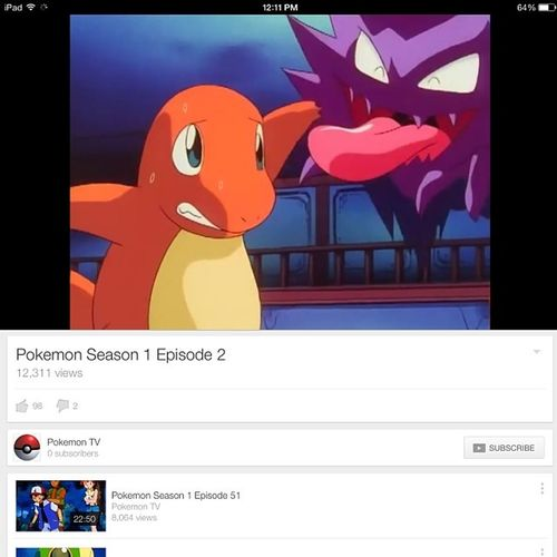 Gonna start watching Pokémon :D gonna relive my Childhoodshows Charmander Ghastly