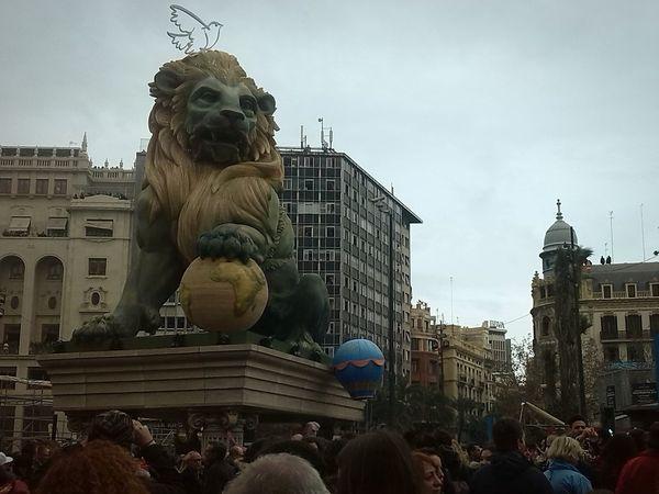 Lion Fallas2015 Valencia, Spain Taking Photos Streetphotography