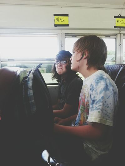 my most favorite guys on the bus
