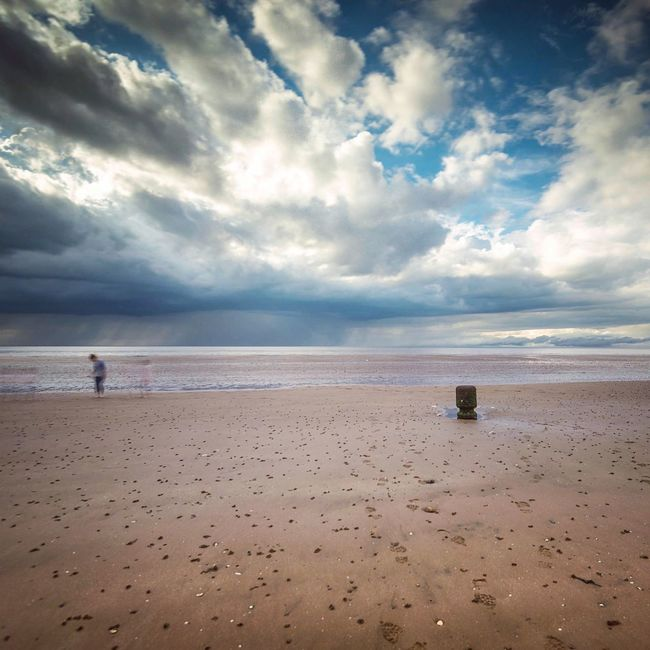 Beach ghosts Hunstanton Norfolk The KIOMI Collection Blue Wave Beach Things I Like This Belongs To Me Sky And Clouds Beach And Sky Sea And Sky Long Exposure Cloud Porn Blueskies Beautiful Nature Clouds And Sky Showcase April Sky And Water East Coast The Great Outdoors With Adobe The Great Outdoors - 2016 EyeEm Awards The Essence Of Summer Nature's Diversities