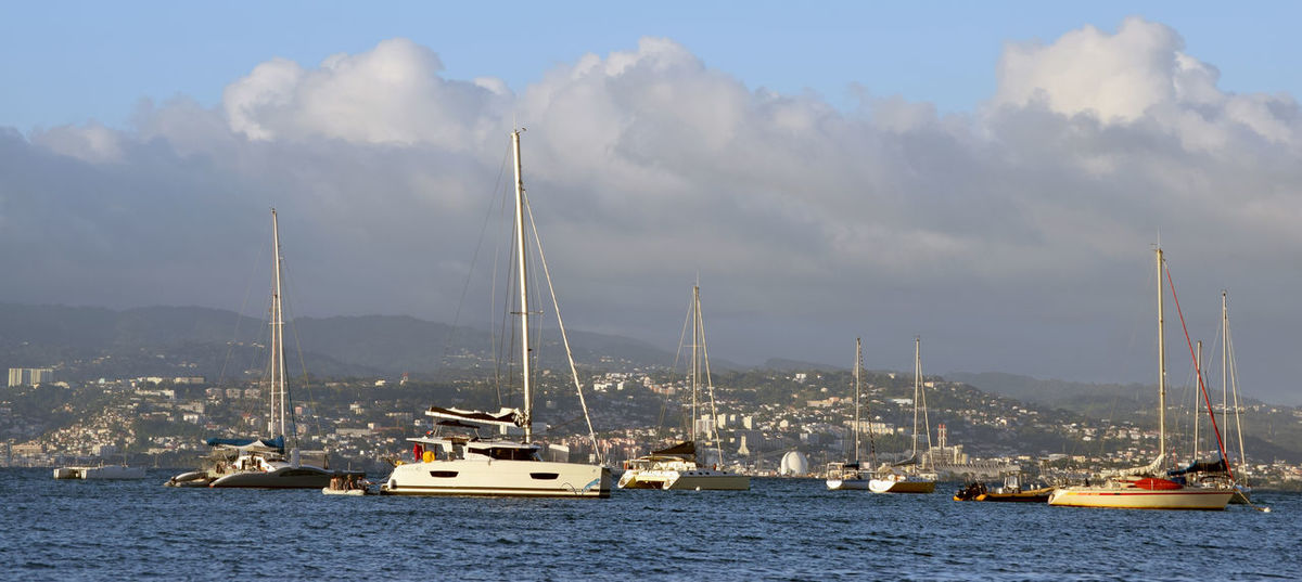 Martinique Caribbean Cloud - Sky Nautical Vessel Outdoors Sailboat Sky Water Yacht