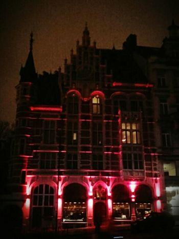 Red Light Montdesarts Nightphotography HUAWEI Photo Award: After Dark