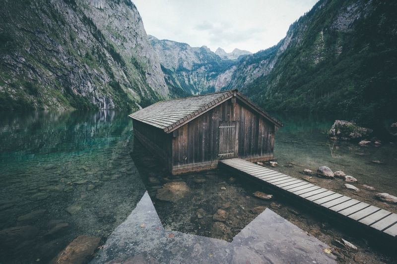 Classic cabin Bavaria Alps Mountain Dawn Mountain Range Photography Travel Destinations Exploring VSCO Landscape Vscocam Leisure Activity Explore Rural Nature Summer EyeEm Best Shots Traveling Outdoors Vacations Germany Travel Tranquility