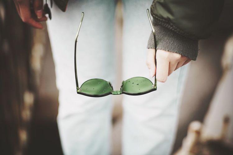 Sunglasses Glasses Eyewear Green Fashion Shibuya Inspirational Dreaming Rain Rainy Days Asian Girl Asian  Portrait Streetphotography Street Photography Street Portrait Asiangirl Girl Street Shootermag_japan Lights Relaxing EyeEm Best Edits EyeEm Gallery Tokyo
