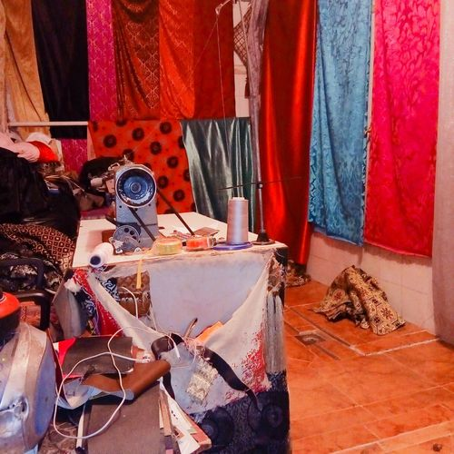 tapestry - room Dress Tapestry Room Machine Occupation Workshop