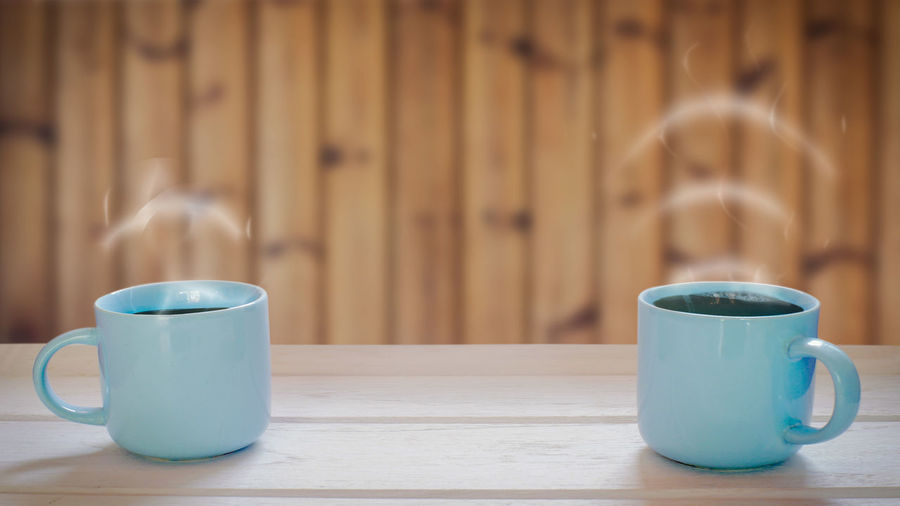 Two coffee cup