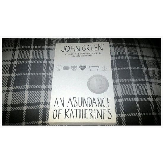 I went to Union Square and decided to buy myself another John Green novel. Johngreen Anabundanceofkatherines NYC