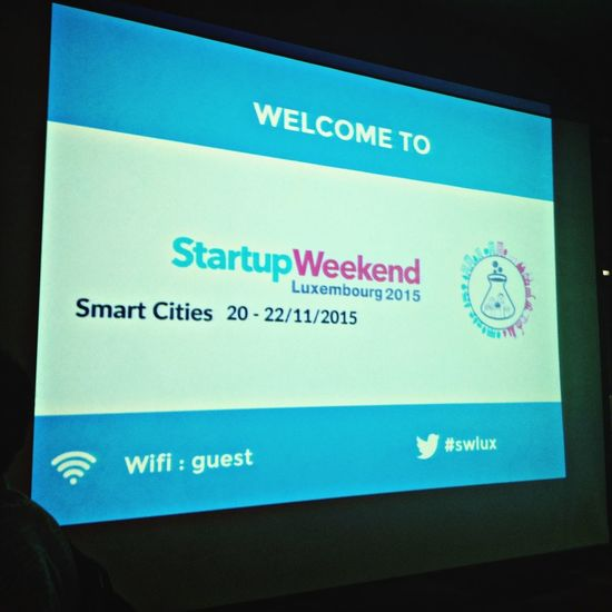 Startup Weekend Luxembourg let's get a bit smarter!!