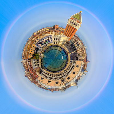 Little Planet Piazza San Marco Holiday Holidays Little Planet Nature Piazza San Marco Travel Day Geometry Italy Lakescape Landscape Little Planet Panorama No People Outdoor Outdoors Round Circles Seaside Sky Square Shot Travel Destination Venice