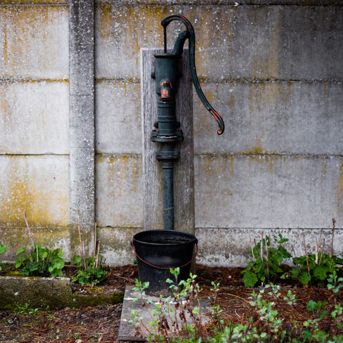 Deterioration Ecological Garden Gardening Groundwater Old Waterpump Outdoors Waterpump
