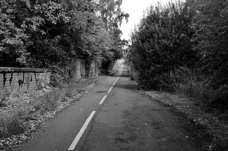 Check This Out Hello World Never Look Back  Nikon D3200 Road Road Home Taking Photos The Road Ahead White Lines A Long Way Black And White Blackandwhite Monochrome My Photography Roadtrip Streetphotography The Way Forward Urban