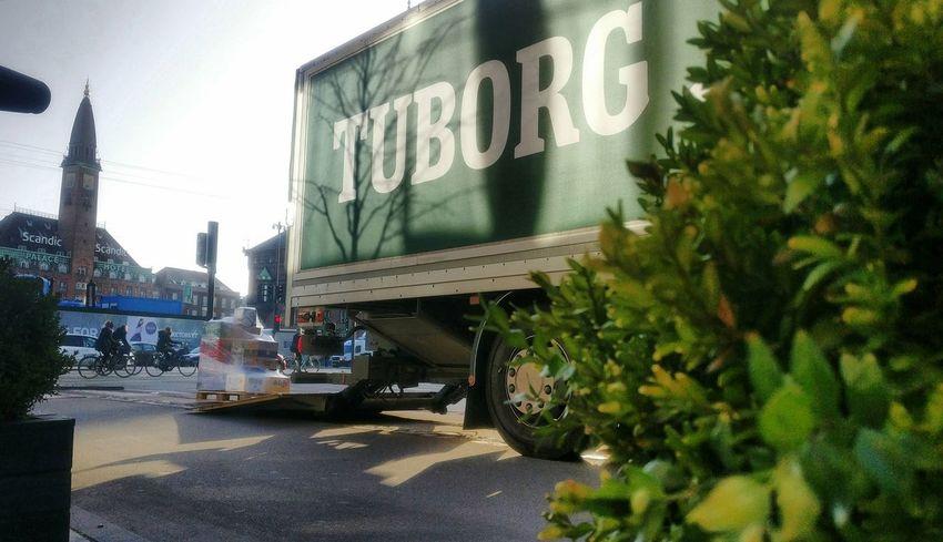 Transportation Land Vehicle Outdoors No People Sky Day beer Denmark Copenhagen Flowers Nature Plant Vesterbro Tuborg