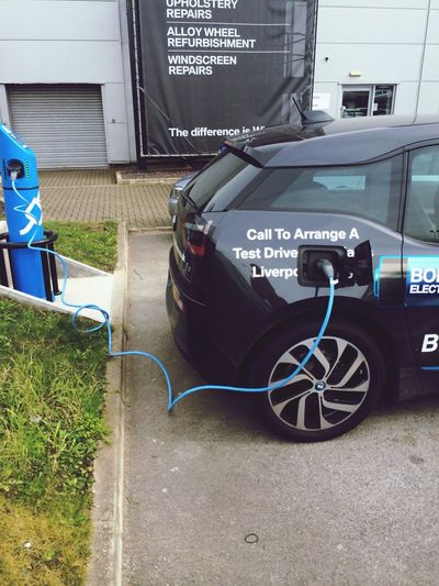 BMW i3, the future of motoring.